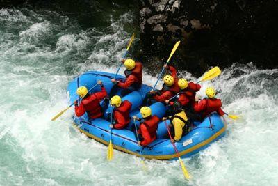 Rafting Familiar en el Río Manso