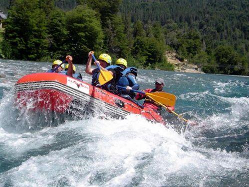 Rafting en el Río Azul